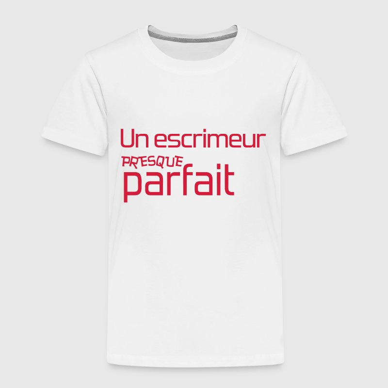 Escrime / Fencer / Fencing / Escrimeur / Fighter Tee shirts - T-shirt Premium Enfant