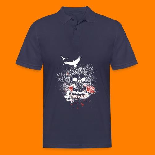 Death & Taxes tee shirt - Men's Polo Shirt