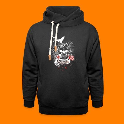 Death & Taxes tee shirt - Shawl Collar Hoodie