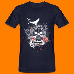 Death & Taxes tee shirt - Men's Organic T-shirt