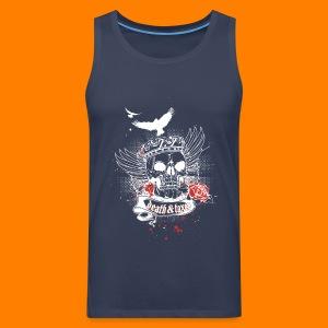 Death & Taxes tee shirt - Men's Premium Tank Top