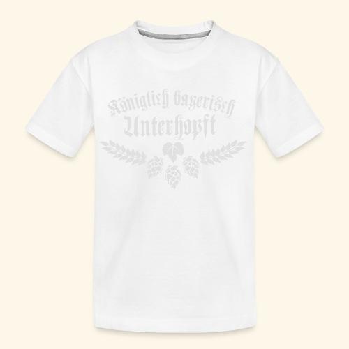 Königlich bayerisch unterhopft - Teenager Premium Bio T-Shirt