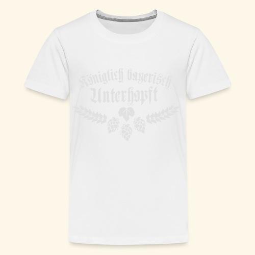 Königlich bayerisch unterhopft - Teenager Premium T-Shirt
