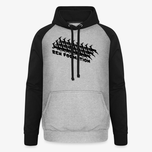 REH FORMATION - Unisex Baseball Hoodie