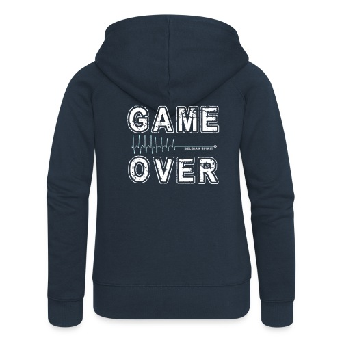 BELGIAN GAME-OVER - Veste à capuche Premium Femme