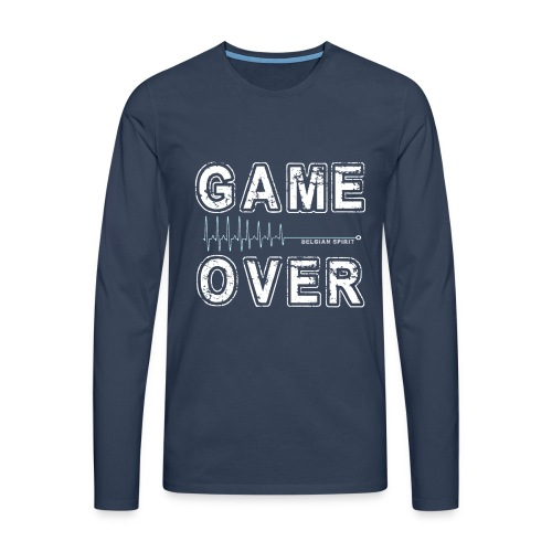 BELGIAN GAME-OVER - T-shirt manches longues Premium Homme
