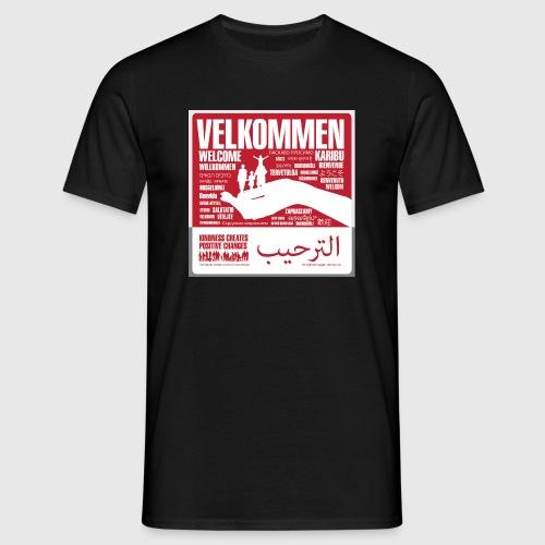 Women  - tshirt - Velkommen - Herre-T-shirt