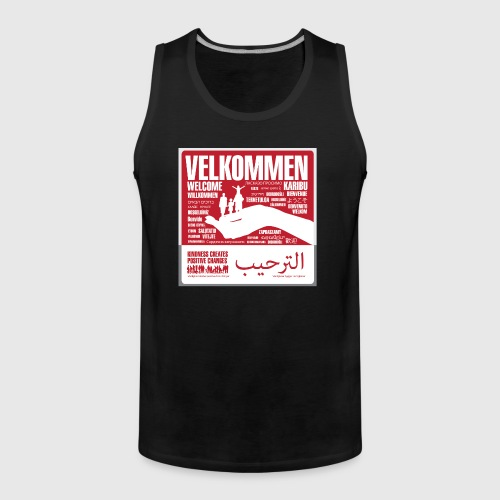 Women  - tshirt - Velkommen - Herre Premium tanktop