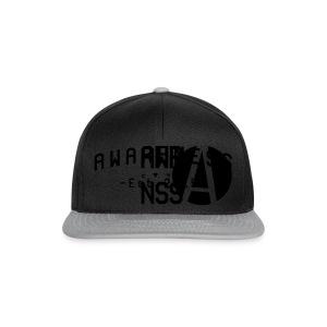 Zwarte mannen T-shirt - Snapback cap