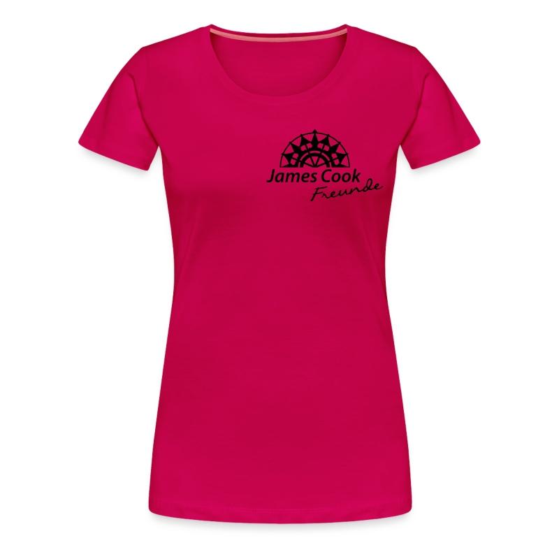 Unterschrift Sven Hedin - Frauen Premium T-Shirt