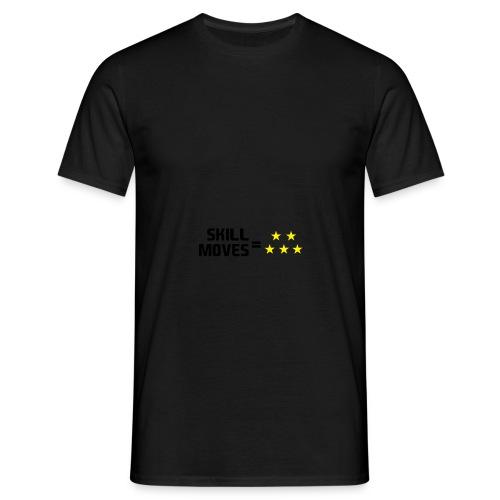 Skill Moves = 5 Stars   Snapback - Men's T-Shirt