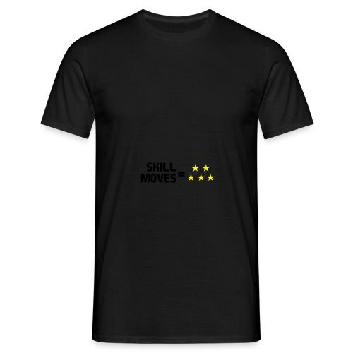 Skill Moves = 5 Stars | Snapback - Men's T-Shirt
