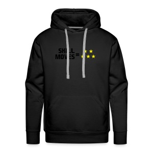 Skill Moves = 5 Stars | Winter Hat - Men's Premium Hoodie