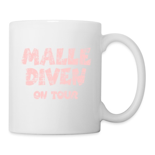 Malle Diven On Tour T-Shirt (Pink) - Tasse