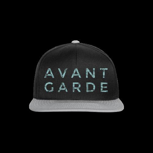 Avantgarde Tank Top (Vintage/Blau) - Snapback Cap