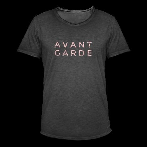 Avantgarde T-Shirt S-3XL (Vintage/Pink) - Männer Vintage T-Shirt