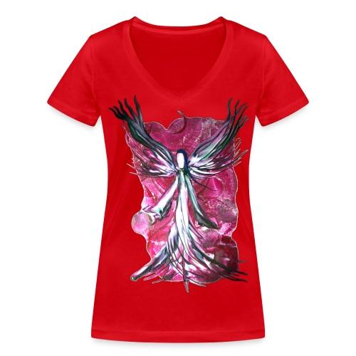 Erzengel Raphael - Frauen Bio-T-Shirt mit V-Ausschnitt von Stanley & Stella