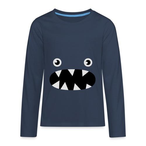 Phillip det lilla monstret - Långärmad premium T-shirt tonåring