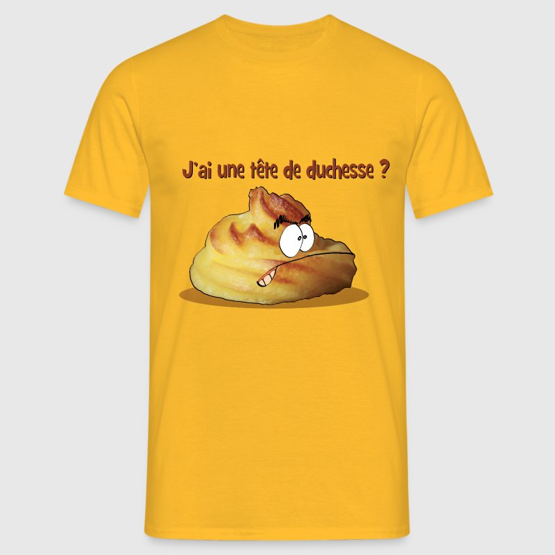patate duchesse Tee shirts - T-shirt Homme
