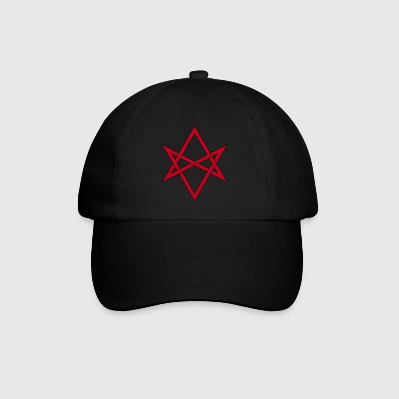 Masonic Unicursal Hexagram Caps & Hats - Baseball Cap