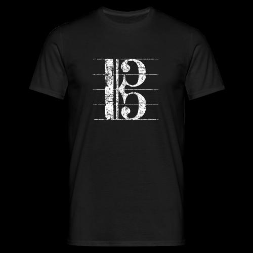 Altschlüssel (Vintage/Weiß) S-3XL T-Shirt - Männer T-Shirt