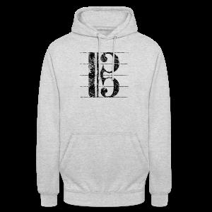 Altschlüssel (Vintage/Schwarz) S-3XL T-Shirt - Unisex Hoodie