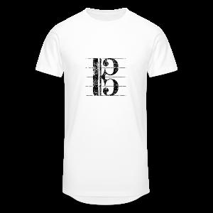 Altschlüssel (Vintage/Schwarz) S-3XL T-Shirt - Männer Urban Longshirt
