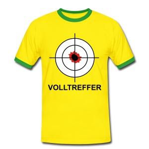 Volltreffer 1 T-Shirts - Männer Kontrast-T-Shirt