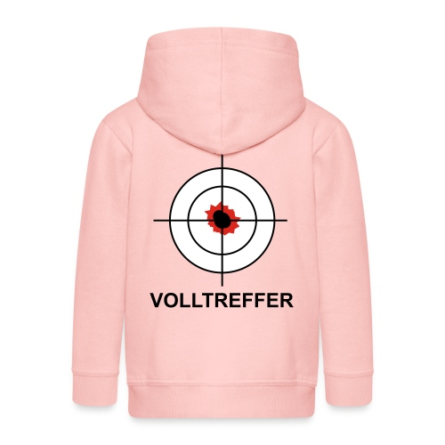 Volltreffer 1 T-Shirts - Kinder Premium Kapuzenjacke