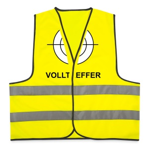 Volltreffer 1 T-Shirts - Warnweste