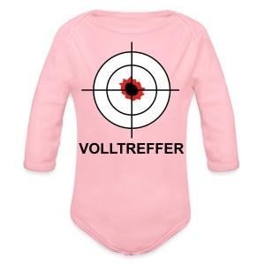 Volltreffer 1 T-Shirts - Baby Bio-Langarm-Body