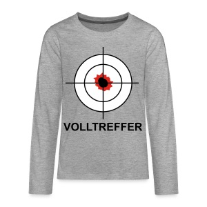 Volltreffer 1 T-Shirts - Teenager Premium Langarmshirt