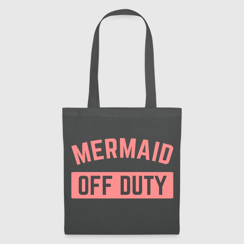 Mermaid Off Duty  Bags & Backpacks - Tote Bag