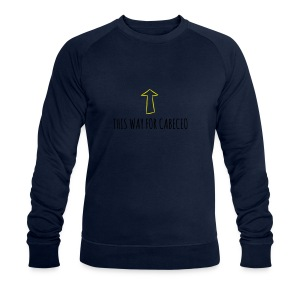 This way for cabeceo - Men's Organic Sweatshirt by Stanley & Stella