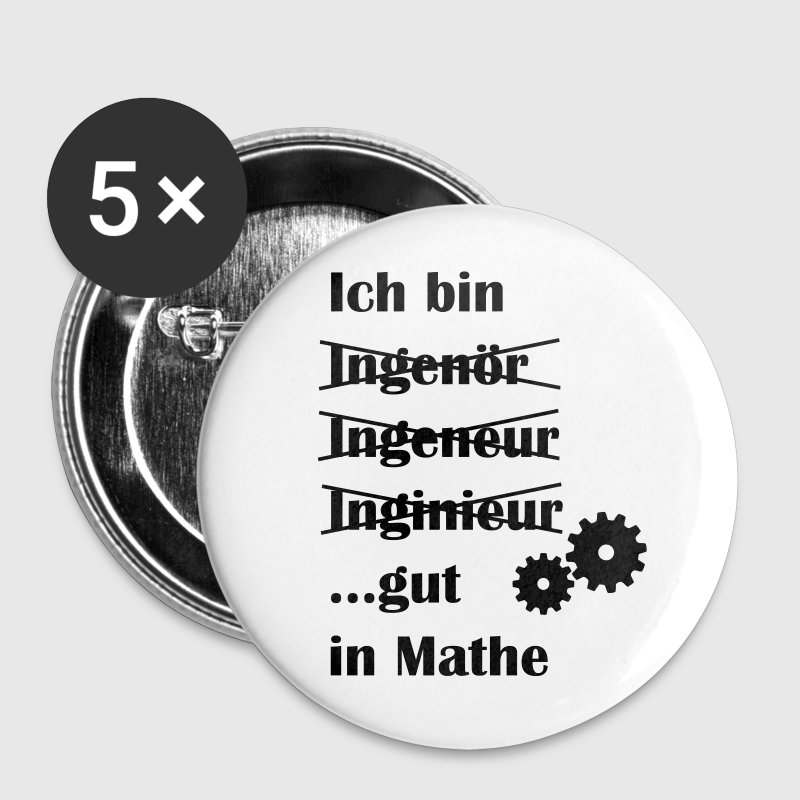 Ingenieur - Buttons groß 56 mm