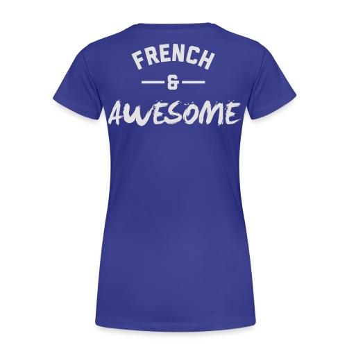 France Awesome – Mens tshirts - Women's Premium T-Shirt