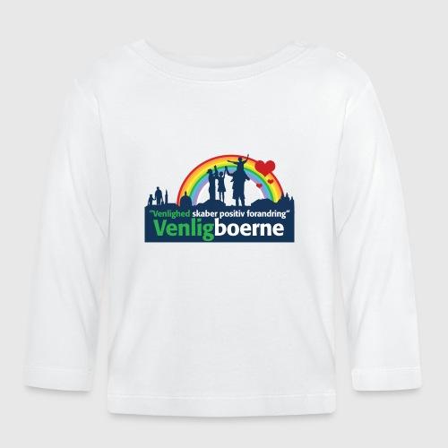 Venligbo Tshirt - Langærmet babyshirt
