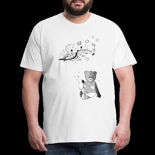 Kinder Shirt Teddybär - Männer Premium T-Shirt