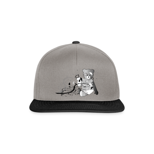 Kinder Shirt Teddybär - Snapback Cap