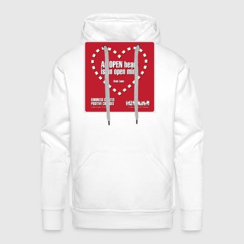 Open heart Men Tshirt - Herre Premium hættetrøje