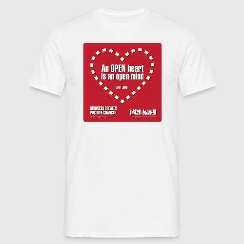 Open heart Men Tshirt - Herre-T-shirt