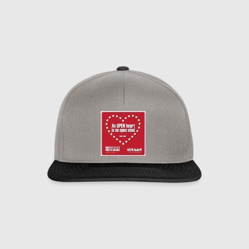 Open heart Men Tshirt - Snapback Cap