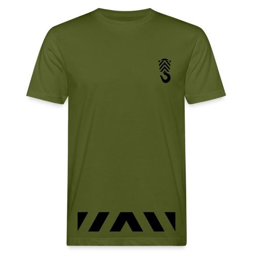 Arbeits- Shirt Abschleppdienst Marke Spreadshirt Druck schwarz - Männer Bio-T-Shirt
