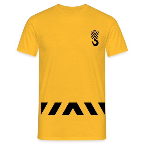 Arbeits- Shirt Abschleppdienst Marke Spreadshirt Druck schwarz - Männer T-Shirt