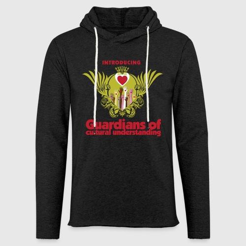 Guardians of culturel understanding -  Kvinde langærmet  thirt - Let sweatshirt med hætte, unisex