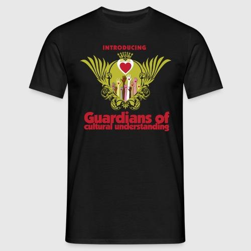 Guardians of culturel understanding -  Kvinde langærmet  thirt - Herre-T-shirt