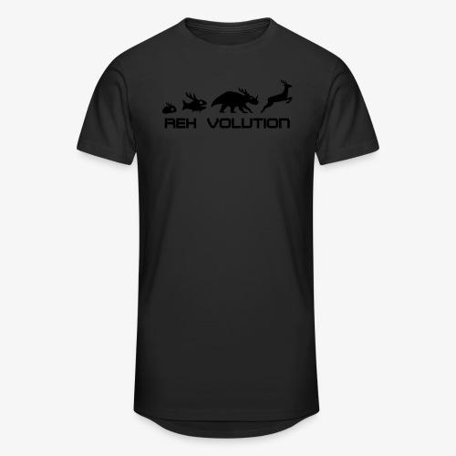 REH Volution (Black) - Männer Urban Longshirt