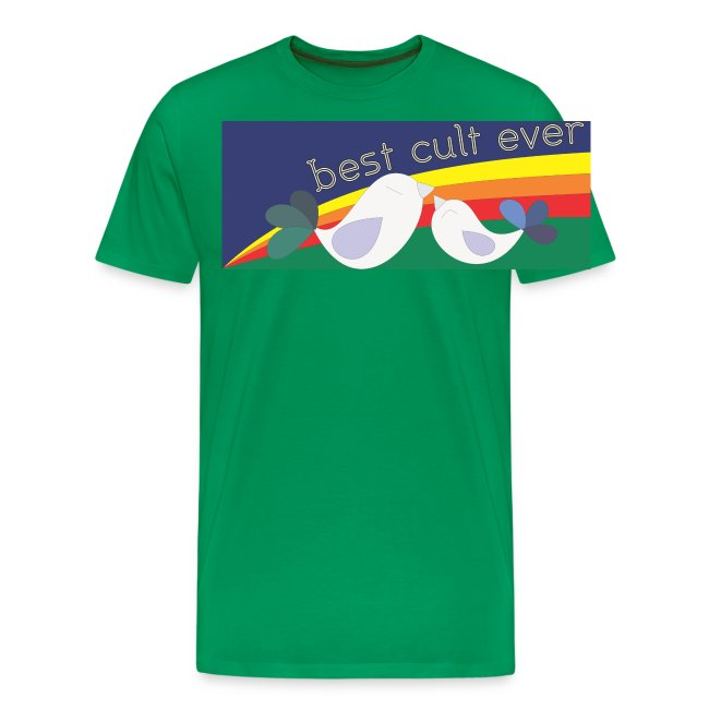 Best cult ever color version mens shirt
