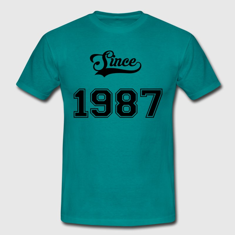 1987 Tee shirts - T-shirt Homme