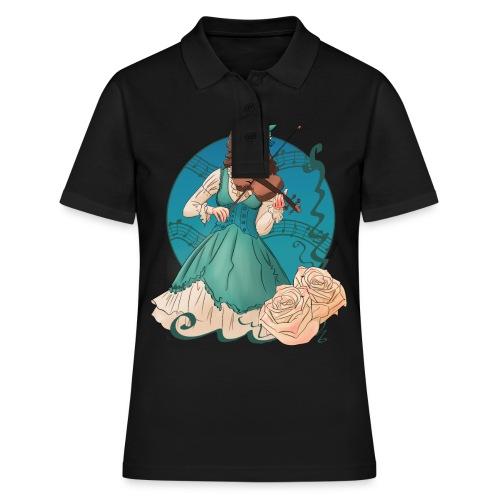 Women's T-shirt: Violin - Women's Polo Shirt
